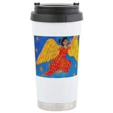 Indian angel cropped for cafepr Travel Mug