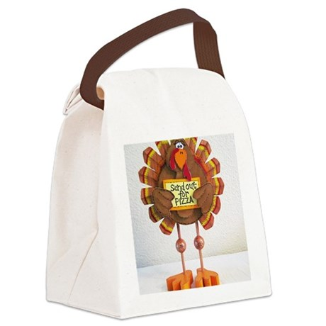 PLEASE Send out for pizza ! Canvas Lunch Bag