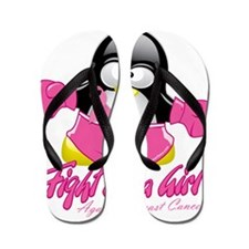 BC-Fighting-Penguin Flip Flops