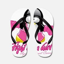 BC-Fighting-Penguin Flip Flops