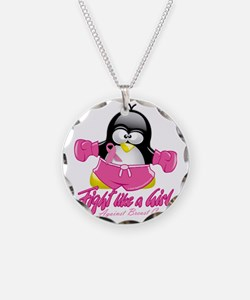 BC-Fighting-Penguin Necklace