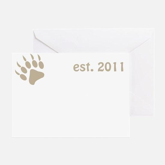 mama bear 2011_dark Greeting Card