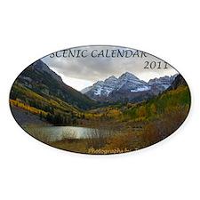 Scenic Calendar 2011 Decal
