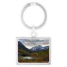 Scenic Calendar 2011 Landscape Keychain