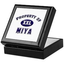 Property of miya Keepsake Box