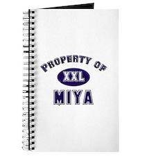Property of miya Journal