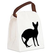 cat_sphynx Canvas Lunch Bag