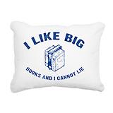 I like big books Rectangle Canvas Pillows