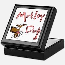 motleydoglogo-notAsPinkHugeSquare Keepsake Box