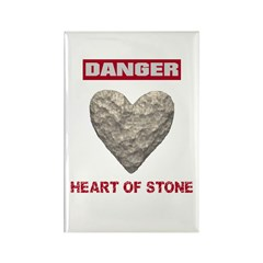 Heart of Stone Rectangle Magnet (10 pack)