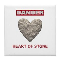 Heart of Stone Tile Coaster