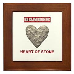 Heart of Stone Framed Tile