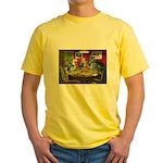 A Greyt Hand Yellow T-Shirt