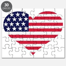 flag_US_heart Puzzle