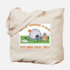 Stop Using Fossil Fuel Tote Bag
