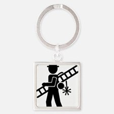 chimney_sweep Square Keychain