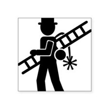 "chimney_sweep Square Sticker 3"" x 3"""