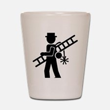 chimney_sweep Shot Glass