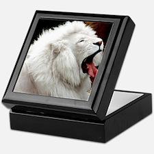 White Lion shirt Keepsake Box