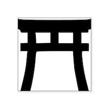 "shinto_tor Square Sticker 3"" x 3"""