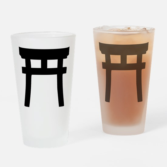 shinto_tor Drinking Glass