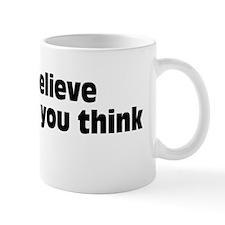 believeBSblk Small Mug