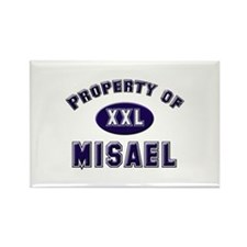Property of misael Rectangle Magnet