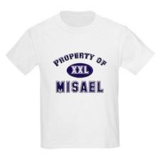 Property of misael Kids T-Shirt