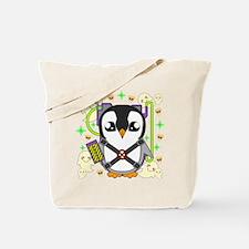 Ghostbustguin Tote Bag