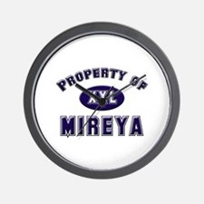 Property of mireya Wall Clock