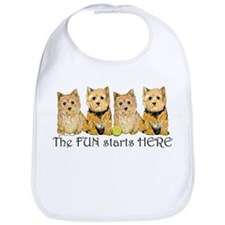 Norwich Terrier Fun Bib