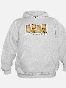 Norwich Terrier Fun Hoodie