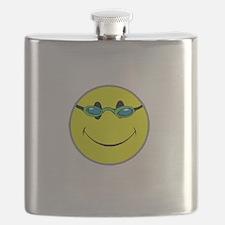 Don't Worry Swim Happy. Flask