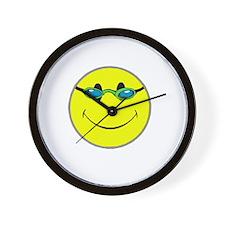 Don't Worry Swim Happy. Wall Clock