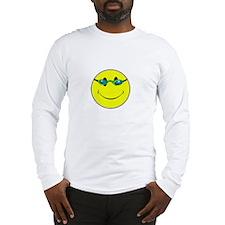 Don't Worry Swim Happy. Long Sleeve T-Shirt
