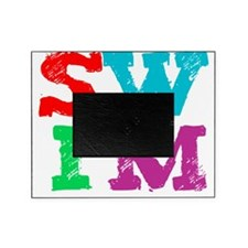 SWIM letters Picture Frame