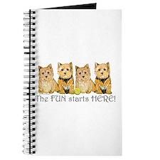 Norwich Terrier Fun Journal