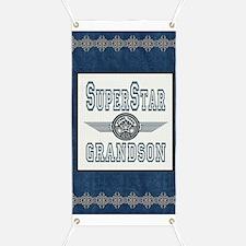 Blanket Blue Jean superstar grandson Banner