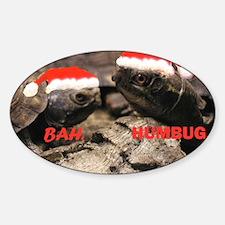 BAH HUMBUG22 Sticker (Oval)