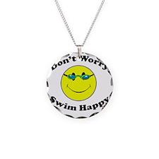 Don't Worry Swim Happy Necklace