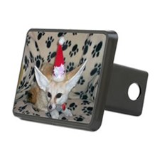 Holiday Fox Hitch Cover