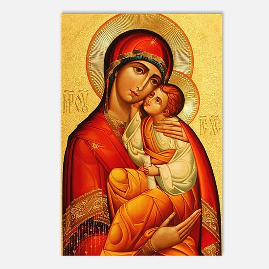 Blessed Virgin Mary Postcards (Package of 8)