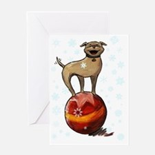 Holiday Card 5x7 floyd front Greeting Card