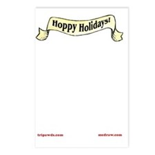 Hoppy Holidays Card Insid Postcards (Package of 8)