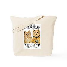 Nothing Beats a Norwich Terri Tote Bag