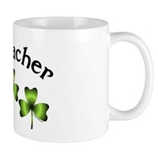 Geocacher 3 Shamrocks Mug