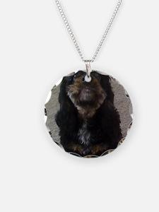 Pets Necklace Circle Charm