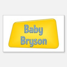 Baby Bryson Rectangle Decal