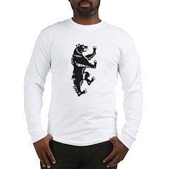 Tribal Bear Long Sleeve T-Shirt