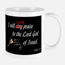 Ring Praise Black Mug